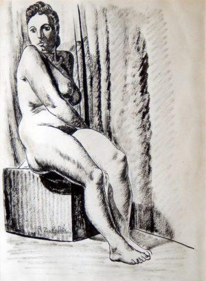 Rafael Zabaleta, Desnudo femenino