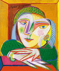 El pequeño Femme à la fenetre (Marie-Thérése), 1936, de Pablo Picasso llegó en Sotheby's a los 17.218.500 dólares