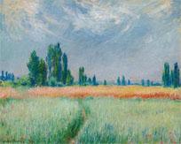 De Claude Monet, Champ de blé, 1881, se adjudicó en Sotheby's Nueva York por 12.122.500 dólares