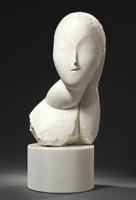 De Constantin Brancusi, Une muse, 1912, se vendió en Christie's Nueva York por 12.402.500 dólares