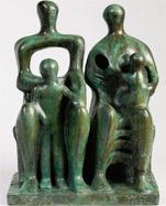 También de Henry Moore, Family group se vendió en Sotheby's Nueva York por 2.658.500 dólares