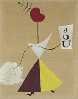 13.746.500 dólares se pagaron en Christie's Nueva York esta Peinture (Femme, Journal, Chien), 1925, de Joan Miró
