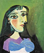 El hipnótico Buste de femme, 1937, retrato de Dora Maar por Pablo Picasso, se vendió en Christie's Nueva York por 13.074.500 dólares
