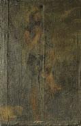 Estado original del San Juan Bautista de Tiziano del Museo del Prado antes de la restauración