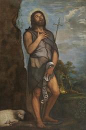 San Juan Bautista de Tiziano del Museo del Prado tras su reciente restauración