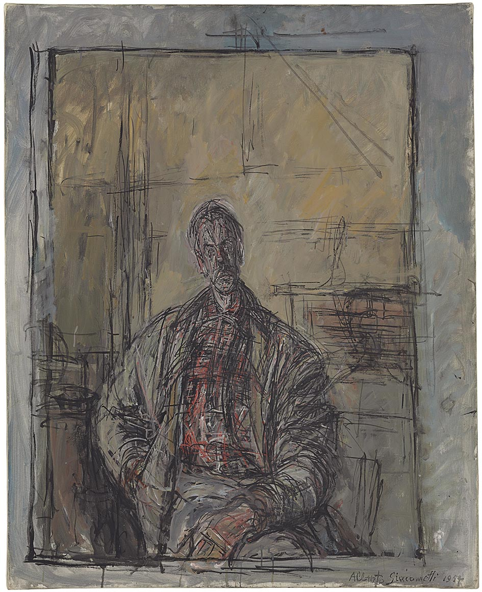 Resultado de imagen de alberto giacometti pintura