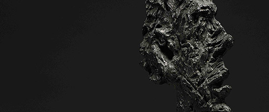 Detalle de Grande tête mince (Grande tête de Diego) de Alberto Giacometti, comprado en Sotheby's por Acquavella Galleries, Inc. por 50.005.000 dólares