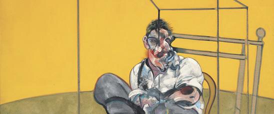 Detalle de Three Studies of Lucian Freud de Francis Bacon. Christie's espera una venta que supere los 86 millones de dólares de su actual récord