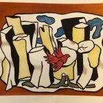 Fernand Leger, L'Oiseau rouge dans le bois, 1953