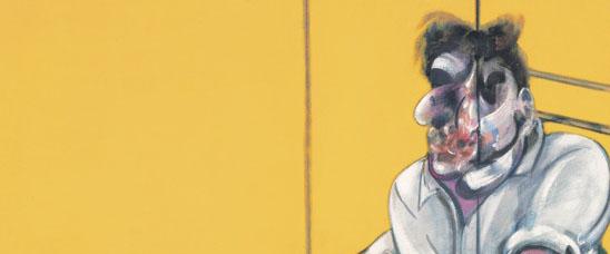 Detalle del cuadro más caro vendido en subasta de la historia a día de hoy, Three Studies of Lucian Freud, 1969, de Francis Bacon: 142.405.000 dólares (105.379.700 euros; 89.715.150 libras) pagados por Acquavella LLC en Christie's Nueva York