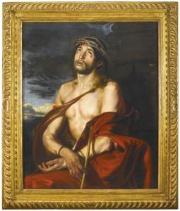 Ecce Homo de Juan Martín Cabezalero. De la colección Fórum Filatélico, salía pujas en Sotheby's Londres con una estimación de 60.000 a 80.000 libras, pero no hubo interesados