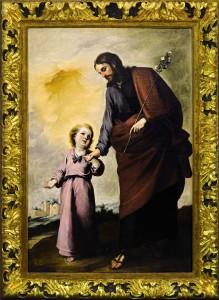 De la colección Fórum Filatélico, San José con el Niño de Murillo fue vendido por 698.500 libras (841.556 euros) en Sotheby's Londres