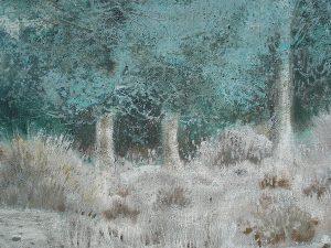José Beulas, Paisaje con árboles, hacia 1976, detalle