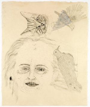 kiki-smith-ginzer-and-the-birds-1996