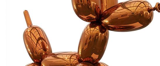 Jeff Koons Ballon Dog Orange Recod
