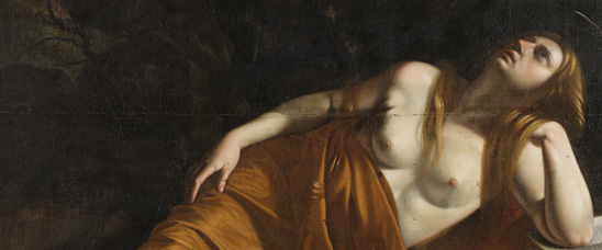 orazio gentileschi magdalena, orazio gentileschi oleos, orazio gentileschi paintings