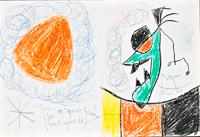 joan miro paper, joan miro 1969, joan miro drawings, joan miro