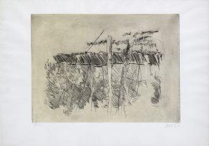 Georg Baselitz - Untitled - 1972