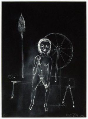 Kiki Smith, Spinsters series V, 2002