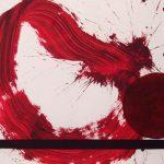 Invertir en Arte - Luis_Feito_rojo_con_raya