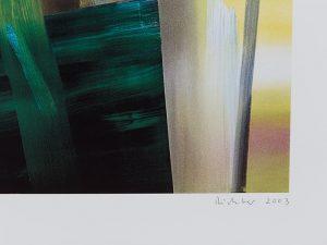 Gerhard Richter, Victoria I, 2003, detail 2