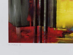Gerhard Richter, Victoria II, 2003, detail 1