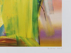 Gerhard Richter, Victoria II, 2003, detail 2