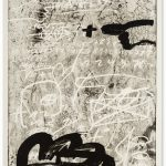 Antoni Tapies, Improvisation, 1987