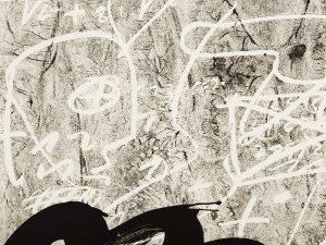 Antoni Tapies, Improvisation, 1987, detail 1