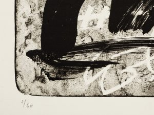 Antoni Tapies, Improvisation, 1987, edition