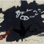 Antoni Tàpies, Roig i Negre 1, 1985