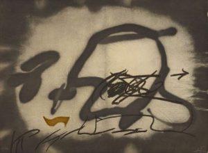Antoni Tàpies, Perfil, 1987