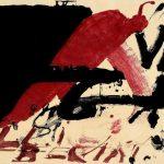 Antoni Tàpies, Signes negres, de Negre i roig, 1976