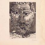 Pablo Picasso, Sable Mouvant, 1966