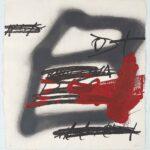 Antoni Tàpies. Forma ombrejad, 1987