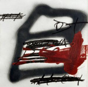 Antoni Tàpies, Forma ombrejada, 1987
