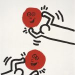 Keith Haring, The story of red and blue 1, 1990