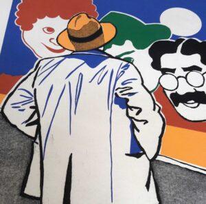 Eduardo Úrculo, Cinemarx, 1993, detail