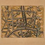 Fernand Léger, L'echafaudage au soleil, 1951