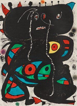 Joan Miró, Hommage aux Prix Nobel, 1976