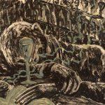 Invertir en Arte - Miquel Barceló, Jeune home ivre dans bar, 1983