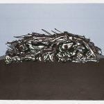Antonio-Saura-Retrato-imaginario-de-Goya-1969