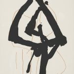 Invertir en Arte -Robert Motherwell, Beau Geste II, 1989