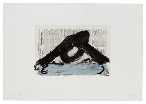 Antoni Tàpies, Untitled, from the portfolio 'Suite 63 x 90', 1980
