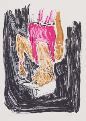 georg-baselitz-einer-malt-mein-portrait-2003