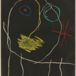 Joan Miró, Le prophète de la nuit, 1965