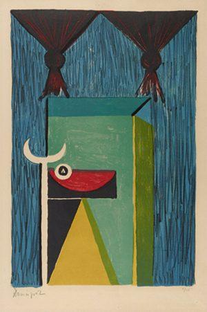 oscar-dominguez-tauromachie-1950