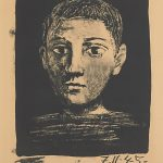 invertir-en-arte-pablo-picasso-head-of-a-young-boy-1945