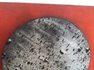 Juan Genovés, Esfera, 1992, detail