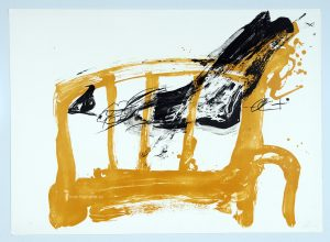 antoni-tapies-chaise-et-pied-from-variations-1984